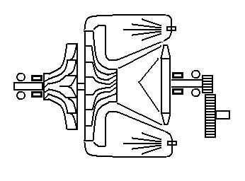 Rover 2S100 mechanical layout
