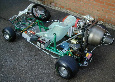 Rover CT3201 powered jet go-kart