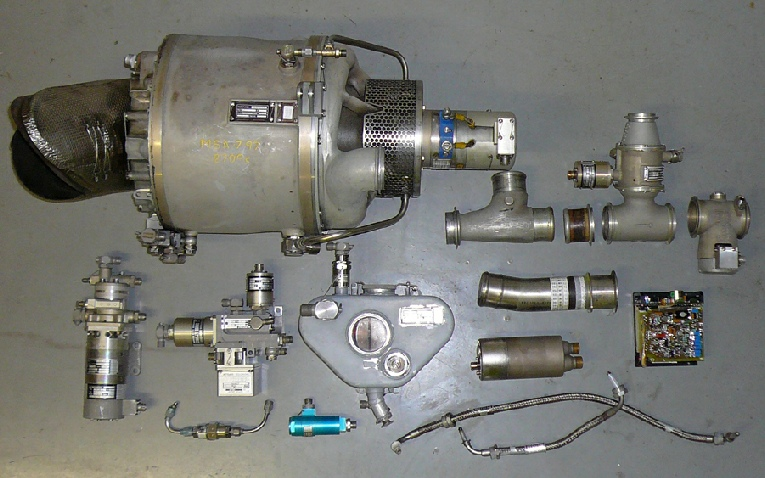 Microturbo Saphir APU System Parts
