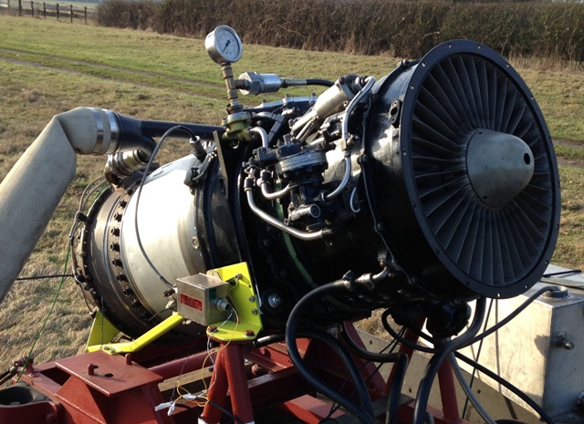 Rolls Royce RB108 Jet Engine