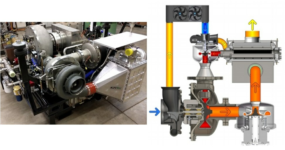 Microturbines a potted history technical guide and blog