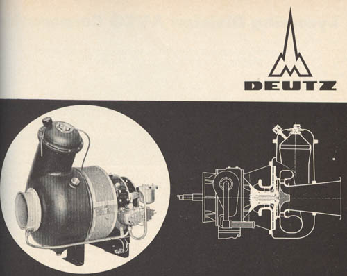 Deutz T216 Gas Turbine