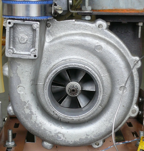 DIY Microturbine (Gas Turbine)
