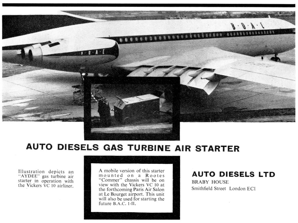 Auto Diesels Gas Turbine Air Starter Advert